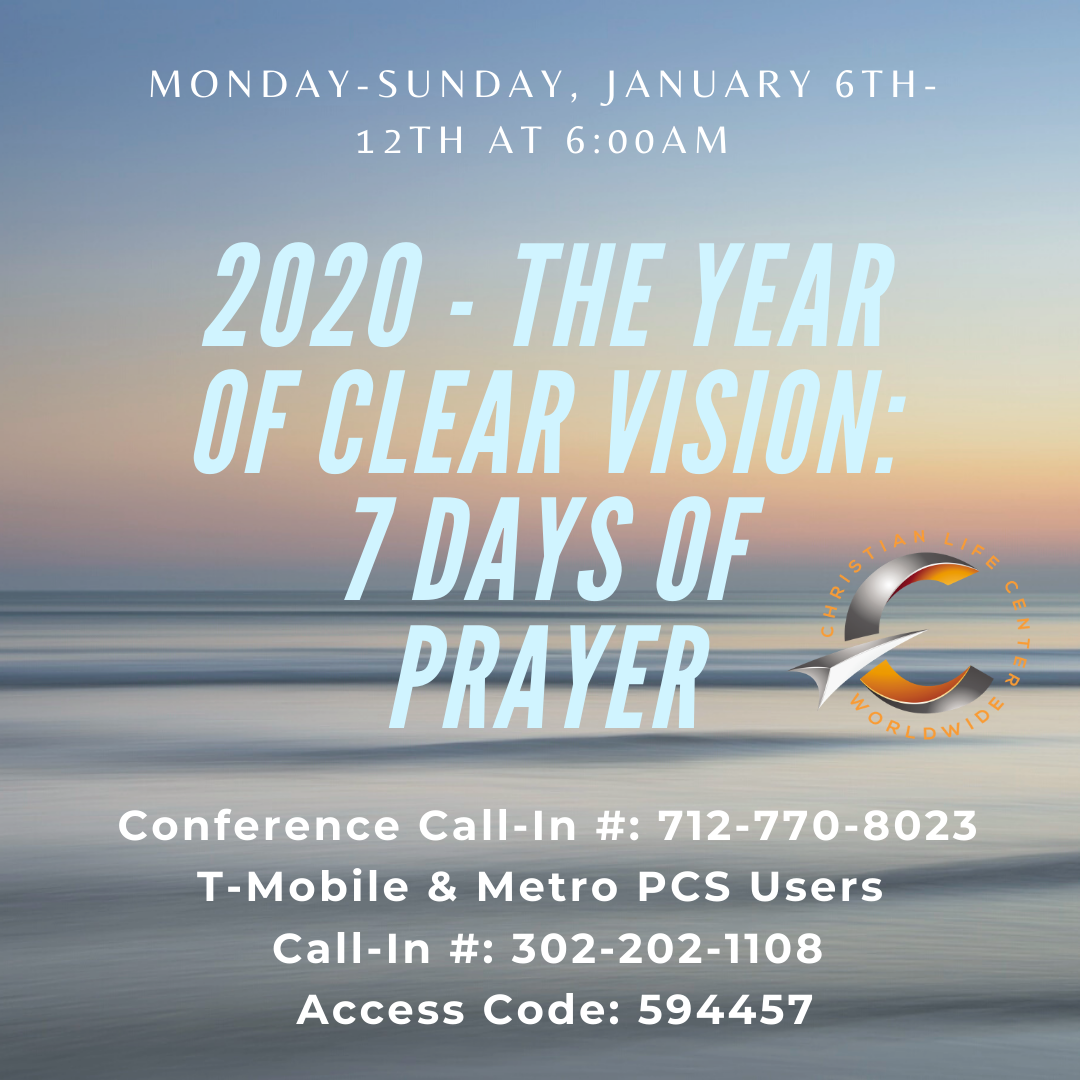 2020 Jan Prayer Call